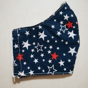 Stars Face Mask Filter Pocket